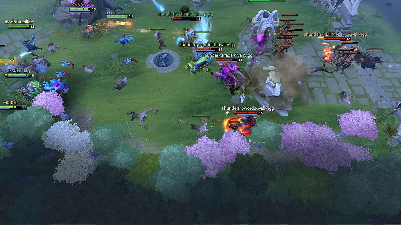 Sword Triple Kill on Axe vs Mad Kings