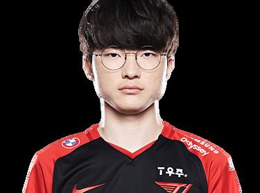 Lol Player Lee Sang-hyeok «faker» Matches Statistics Biography