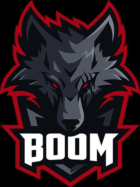 BOOM Esports логотип