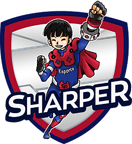 Image result for sharper white logo thailand esports