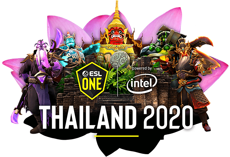 ESL One Thailand 2020 logo