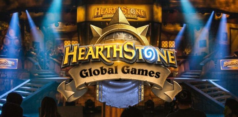Hearthstone Global Games 2018 logo